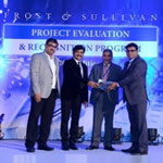Frost & Sullivan india award - supply chain theme