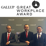 GALLUP - Great Workplace Award 2014