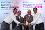 Greentech safety award 2013