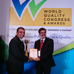World Quality Congress Awards 2014