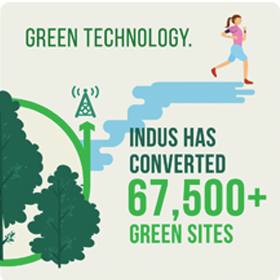 Green Technology by Indus Towers