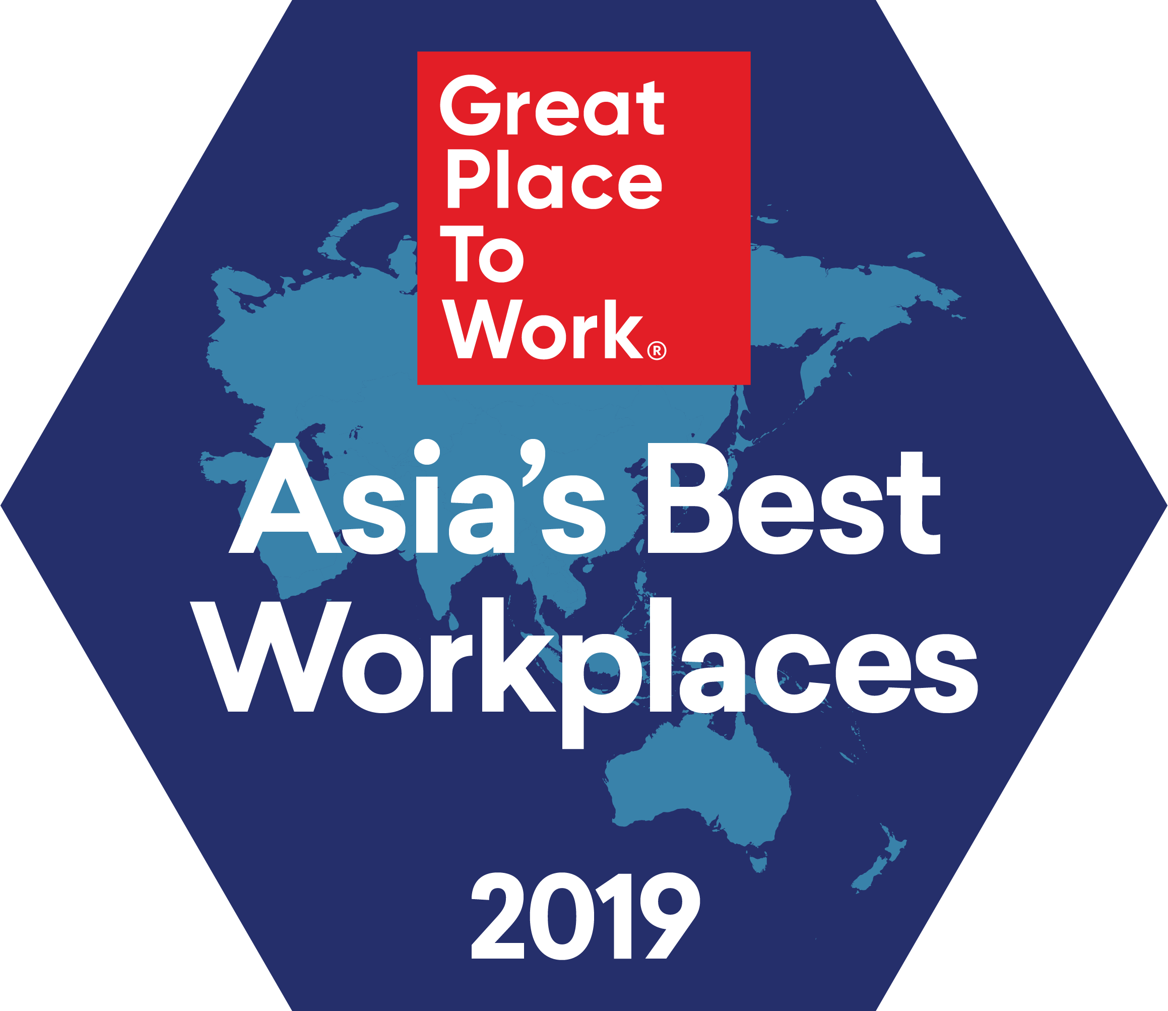 Best Large Workplaces in Asia, 2019