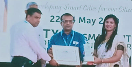 Indus wins the first Smart City Award