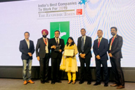 The Economic Times & Great Place to Work Institute- India's Best Companies To Work For 2019